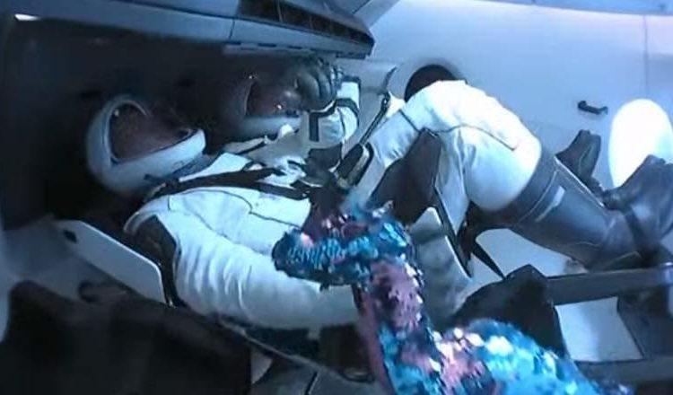 SpaceX y la NASA lanzan con éxito el Crew Dragon al espacio