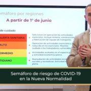 En Nueva Normalidad semáforo regulará la reanudación de actividades, explica López-Gatell