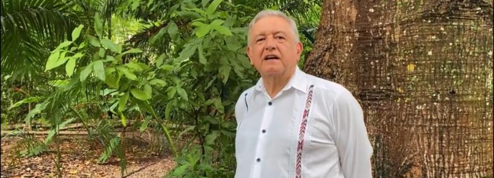 López Obrador afirma que el pueblo decidirá el destino del país para 2021
