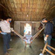 Comunidad de Xaya recibe apoyos para enfrentar la crisis por el Covid-19