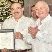 Ramírez Marín solicita licencia para darle voz a un empresario yucateco en el Senado de la República