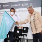 Tren Maya inicia su ruta de construcción en Quintana Roo