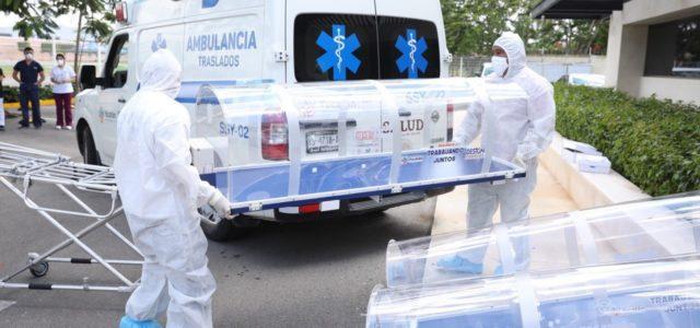 Yucatán aún tiene capacidad hospitalaria para atender pacientes con Covid-19