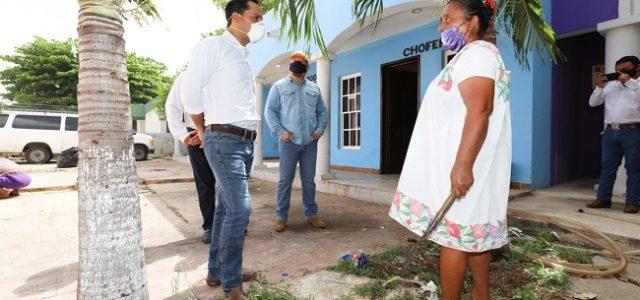 Vila recorre municipios para supervisar programas de apoyos