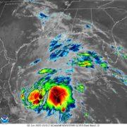 """Nace la Tormenta Tropical """"Cristóbal"""" en la sonda de Campeche"""