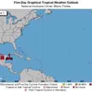 """Comienza muy activa la temporada de huracanes, se formaría """"Cristóbal"""" en el Golfo de México"""