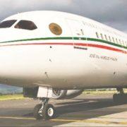 Hay ofrecimiento de compra para el Avión Presidencial