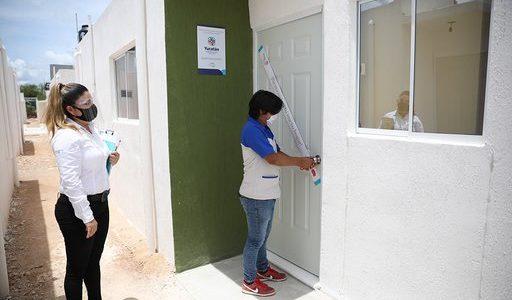Familias yucatecas cumplen sueño de contar con casa propia