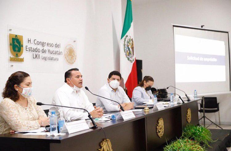 Renán Barrera comparece ante diputados por el tema del empréstito