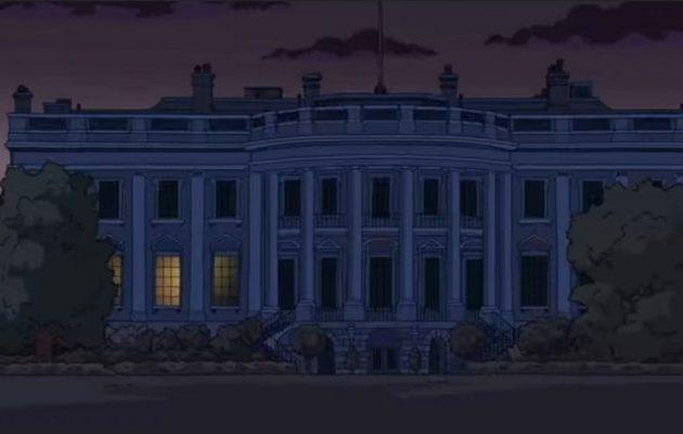 ¿'Los Simpson' 'predijeron' la Casa Blanca apagada?