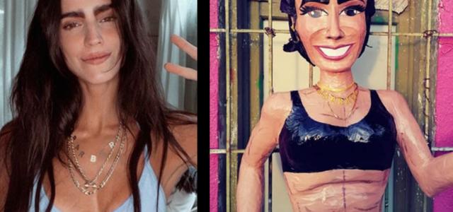 ¡Sonríe! Bárbara de Regil ya tiene su propia piñata; así luce la influencer fitness