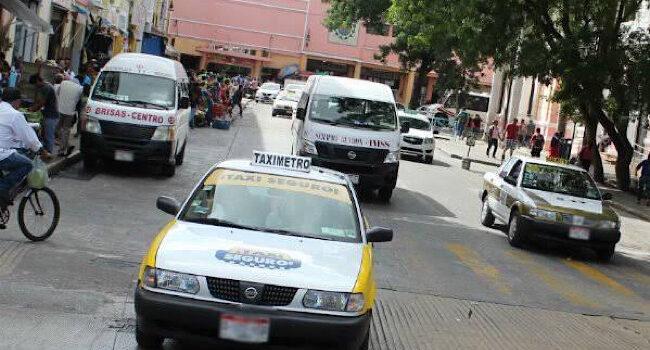 Hasta 2 pasajeros podrán llevar taxis y vehículos de plataformas