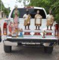 Recuperan las imágenes de los Reyes Magos robados en Tizimín
