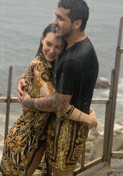 Destapan íntimo momento de Belinda y Christian Nodal