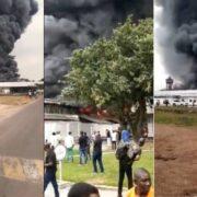 Un incendio arrasó con el almacén de medicinas de Unicef en la R.D. Congo