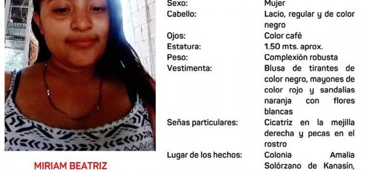 Buscan a adolescente de 13 años en Yucatán