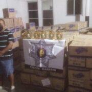 Decomisan arsenal de licor cerca de Kanasín