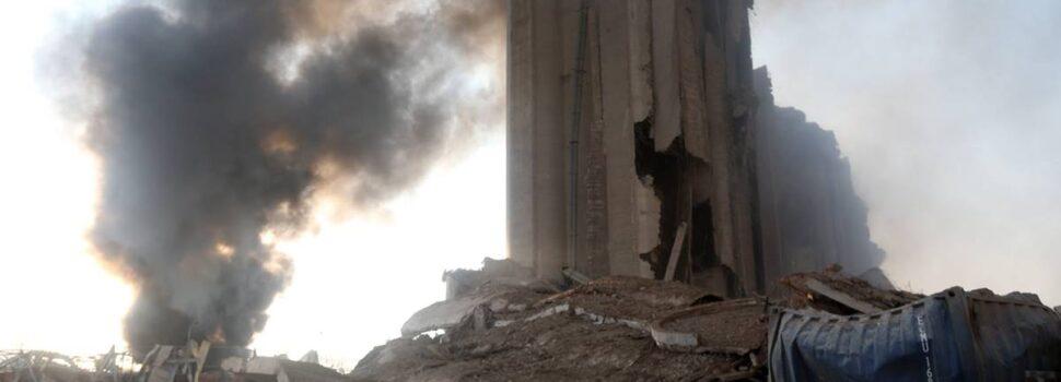 Explotaron 2,700 toneladas de nitrato de amonio en Beirut