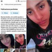 Familiares piden ayuda para localizar a Viviana