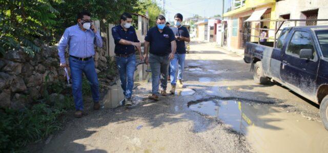 En Tekax se realizará la reconstrucción y bacheo de calles