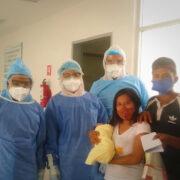 Recién nacida vence al Covid en Hospital de Valladolid