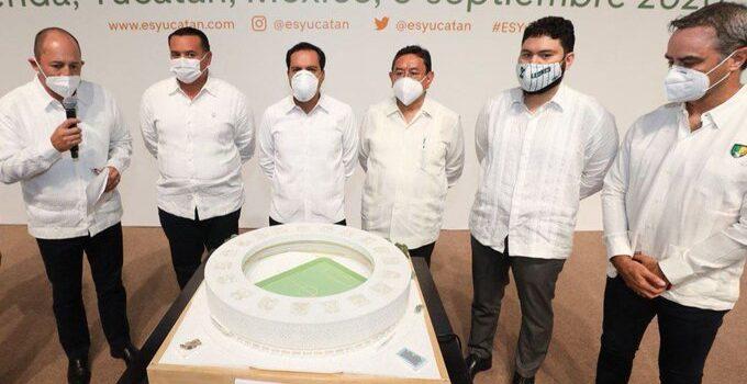 Inversionistas privados construirán en Yucatán el estadio más moderno y sustentable de México