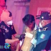 Mujer acuchilla a su pareja en Kanasín