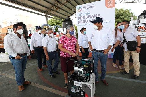 Productores cuentan con el apoyo del Gobierno del Estado para reactivar el campo