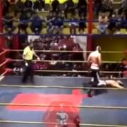 Muere el luchador 'Príncipe Aéreo' tras desvanecerse en plena pelea
