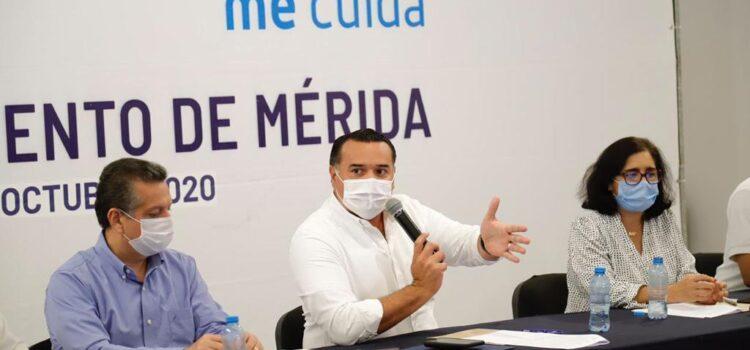 Renán Barrera y especialistas buscarán solución, para zonas de riesgo de inundaciones