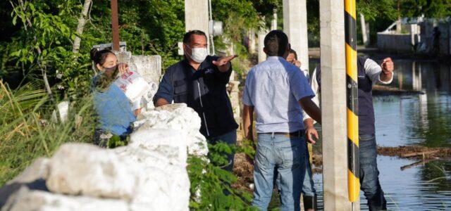 Ayuntamiento avanza en los trabajos en comisarás y colonias inundadas
