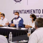 """Renán Barrera anuncia programa de atención integral al fraccionamiento """"Las Américas"""""""