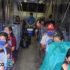 Continúan las evacuaciones en la costa norte de Yucatán