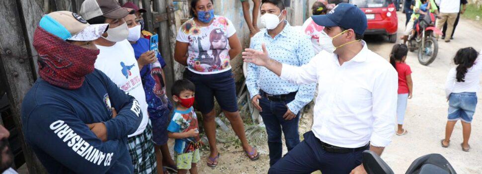 Supervisa el Gobernador Mauricio Vila labores de evacuación de la población de Río Lagartos y San Felipe
