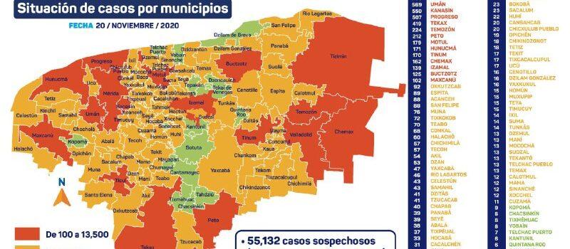 Sube el número de contagios por coronavirus nuevamente, hoy se reportan 73