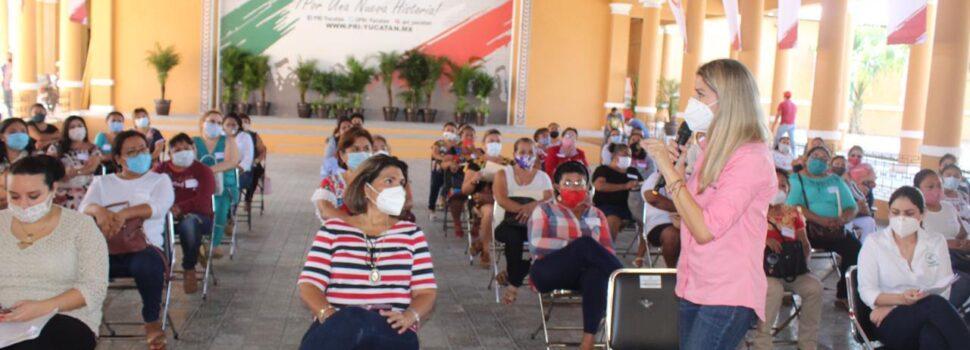 Linett Escoffié impulsa el liderazgo de mujeres en el PRI