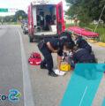 Atropellan a motociclista en la Conkal- Mérida