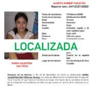Desactivan la Alerta Amber en Yucatán, han localizado a la adolescente de Ticul